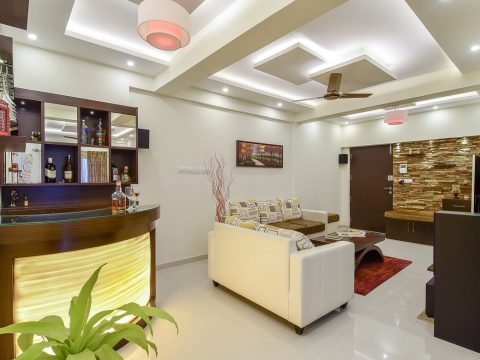 Mr. Raghavan's Modern Indian Home Interiors
