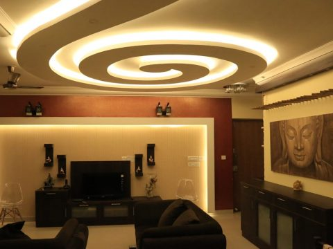 Mr. Sandeep 3bhk Home Interiors design