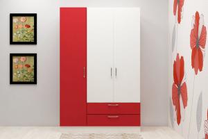 Three Door Wardrobes